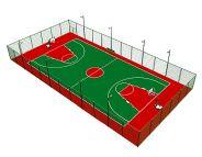 乐投letou线路篮球场设计