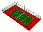 乐投letou线路网球场设计